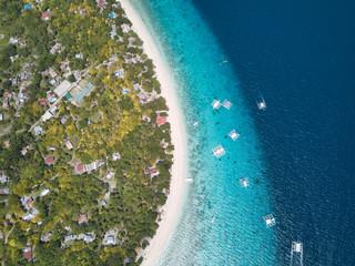 Balicasag Island, Philippines-aerial view