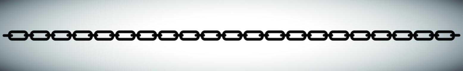 Black chain shape