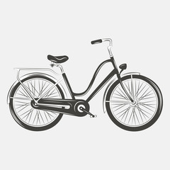 Bicycle Vector illustration .