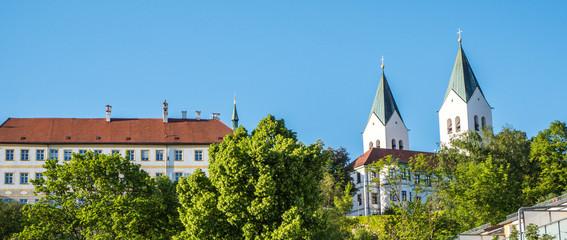 Blick auf den Dom von Freising Fototapete