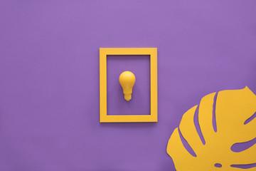 Bulb in frame