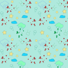 wallpaper nature and object for background ,illustration vector.