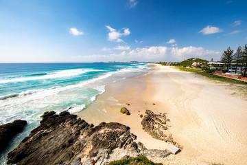 Foto op Canvas Oceanië Currumbin Beach Gold Coast