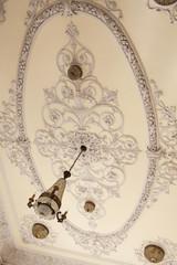 Restored ceiling, Naval Historical Museum, Cienfuegos, Cuba