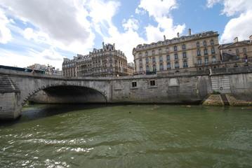 Pont Royal; waterway; body of water; river; water