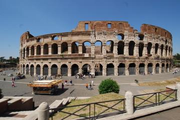 Colosseum; Rome; Colosseum; Colosseum; landmark; amphitheatre; ancient rome; historic site