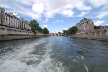 Pont Neuf; waterway; water; body of water; river