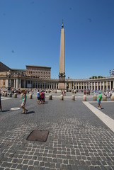Saint Peter's Square; town square; landmark; sky; plaza