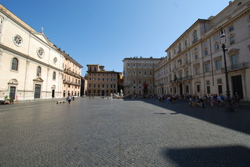 Piazza Navona; town square; town; sky; city