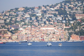 Cap Ferrat; city; sea; sky; harbor
