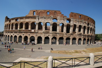 Colosseum; Colosseum; Rome; Colosseum; amphitheatre; historic site; landmark; ancient rome
