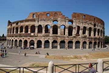 Colosseum; Colosseum; Rome; Colosseum; historic site; amphitheatre; landmark; ancient roman architecture