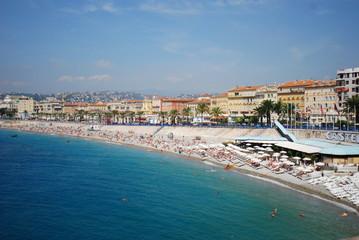 Promenade des Anglais; sea; body of water; sky; beach
