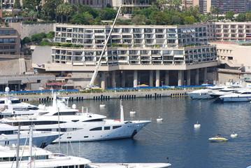 Monte-Carlo; marina; water transportation; passenger ship; boat