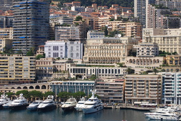 Port de Fontvieille; Monte-Carlo; marina; city; urban area; water transportation