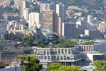 Monte-Carlo; city; metropolitan area; urban area; cityscape
