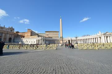 Saint Peter's Basilica; sky; landmark; town square; town