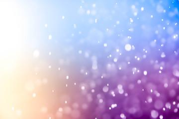 Christmas blur bokeh background texture abstract light glittering stars on bokeh. glitter vintage lights background
