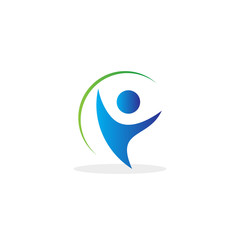 happy active people logo