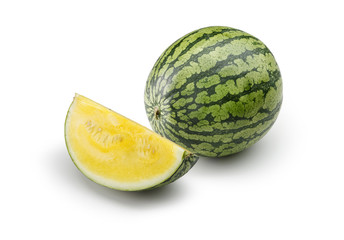 Yellow watermelon 1