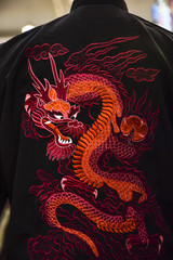 the red dragon traditional symbol of China