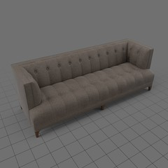 Classic five seater sofa