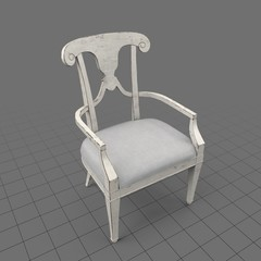Decorative armchair