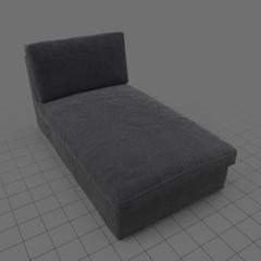 Scandinavian chaise