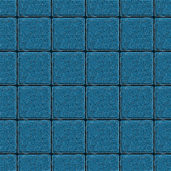 Abstract symmetrical background. Square tile consisting of twisted thin filaments