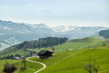 Wall Mural - UNESCO biosphere reserve Entlebuch in central Switzerland