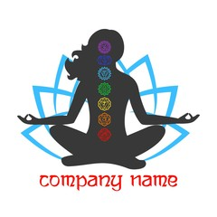 the logo yoga