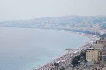 Nice; sea; sky; coastal and oceanic landforms; city