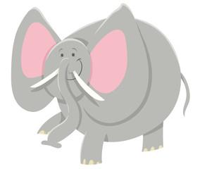 cartoon African elephant animal character