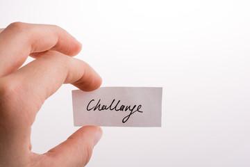 Challenge written paper