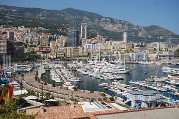 Port de Fontvieille; Monte-Carlo; aerial photography; bird's eye view; city; town