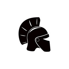 roman helmet illustration. Element of theter for mobile concept and web apps. Detailed roman helmet icon can be used for web and mobile. Premium icon