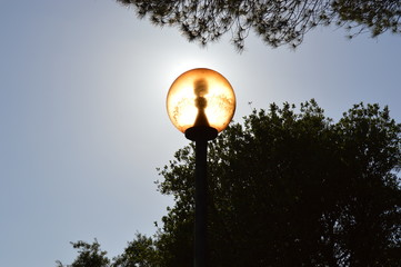 The artificial Light of life is natural