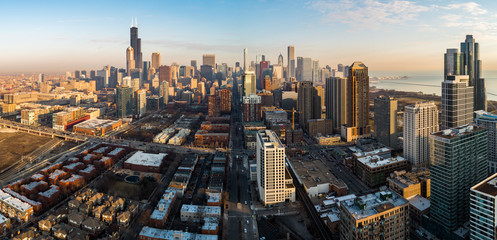 chicago from the south
