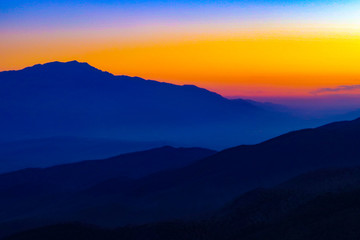 Keys View Sunset Silhouette