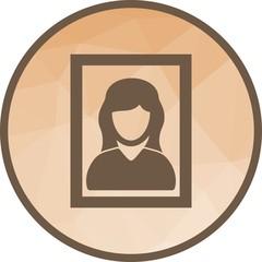 Female Portrait icon