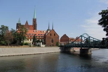 Wroclaw city retro vintage photography