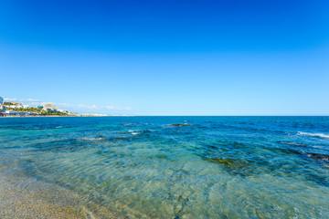 Playa del Bil Bil, Benalmadena, Andalusia, Spain