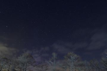 昭和新山の夜景