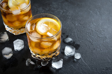 Whiskey High Ball Cocktail