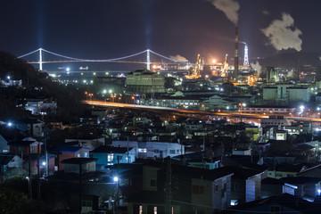 室蘭市 夜景