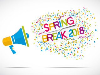 megaphone : SPRNG BREAK 2018