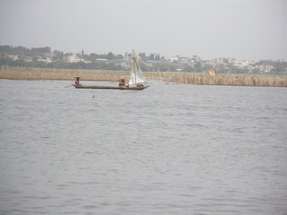 Benin, imbarcazioni sul Lago Nokoué