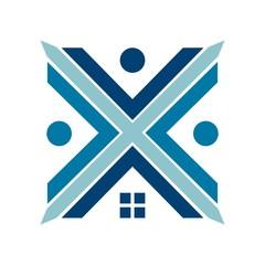 home logo. building icon. vector eps 08.