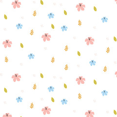 Cute tropical pattern.Perfect design for greeting cards, posters, T-shirts, banners, print invitations.