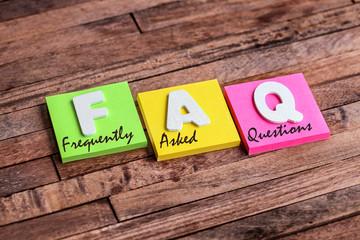 trousseau de clés : FAQ (freaquently added quastions